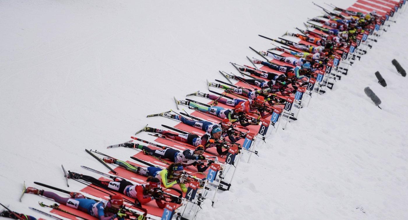 Четыре российских биатлониста попались на допинге