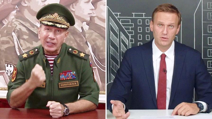 Навальный выплатит Золотову миллион