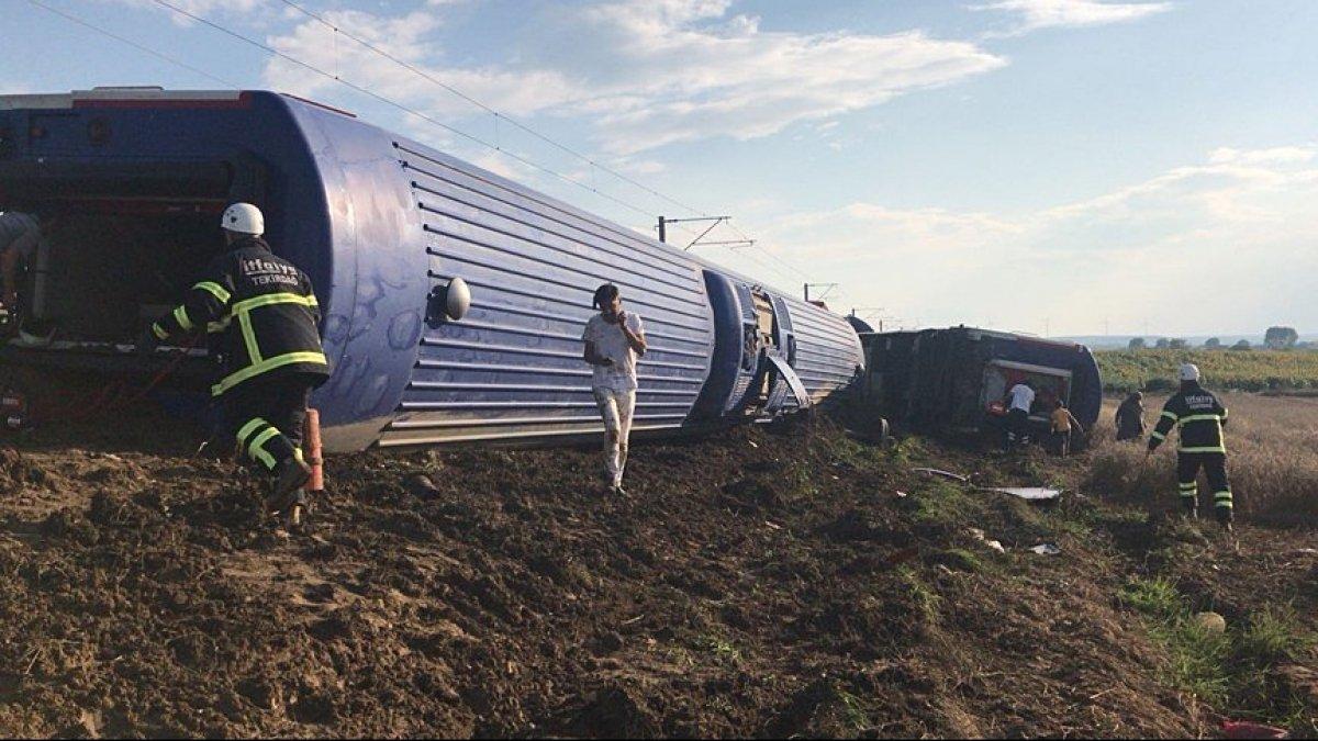Крушение поезда вТурции унесло жизни
