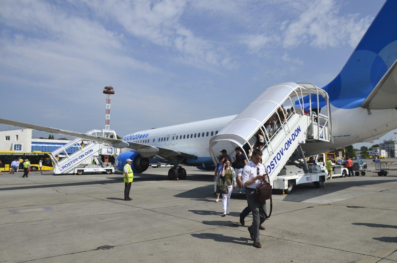 Самолет экстренно сел из-за смерти человека