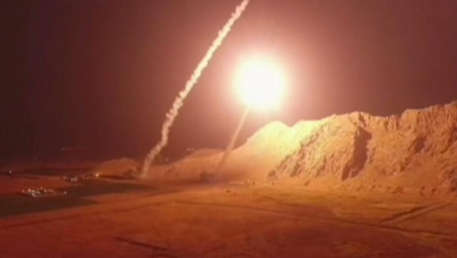 Иран ударил по Сирии