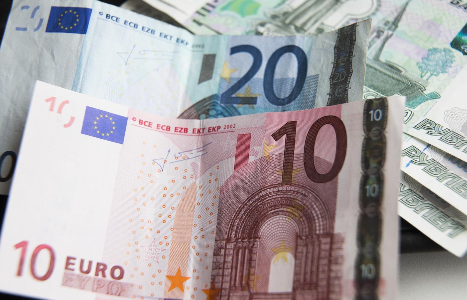 Курс евро вырос выше 80 рублей