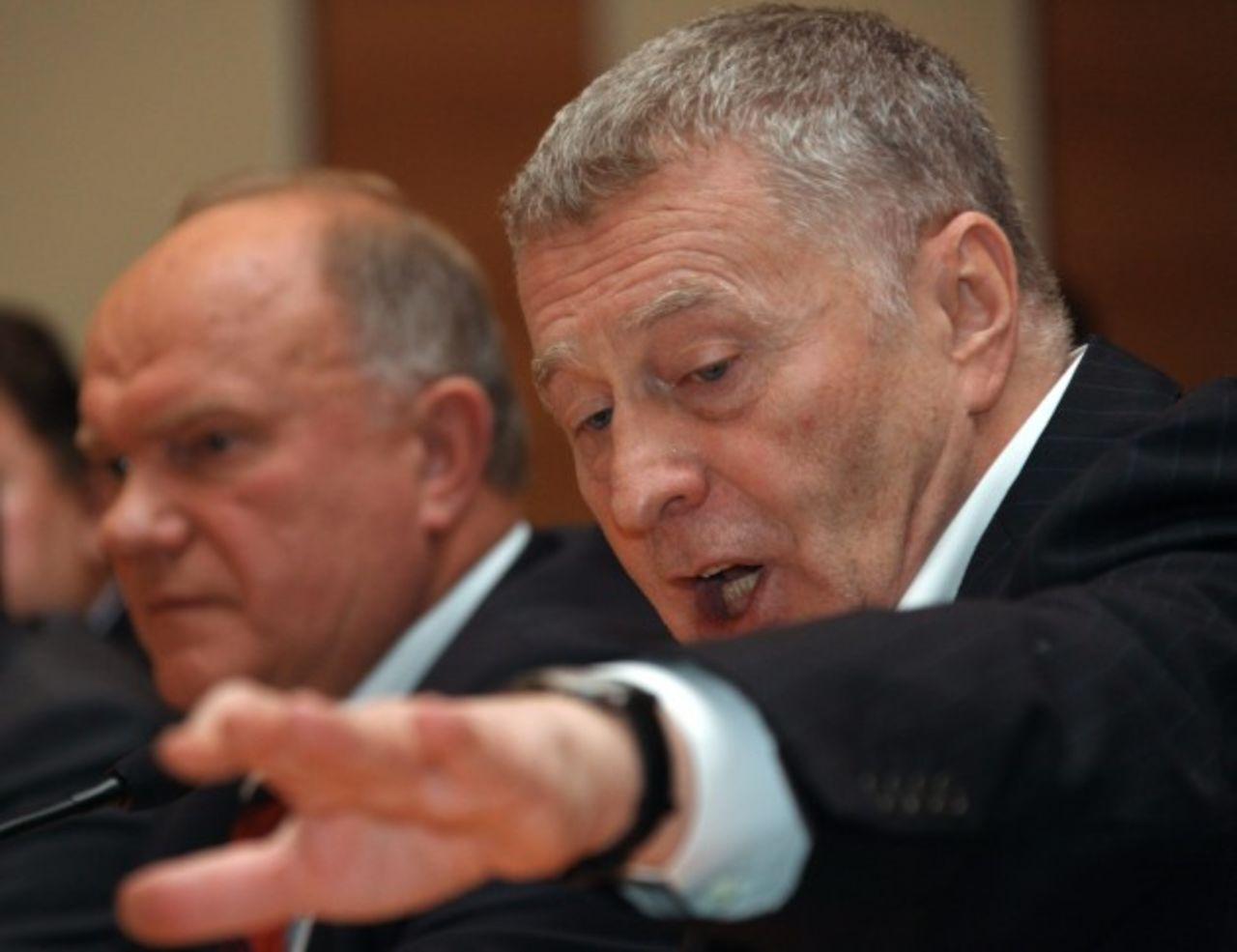 Жириновский уСоловьева грозился облить Хинштейна фекалиями