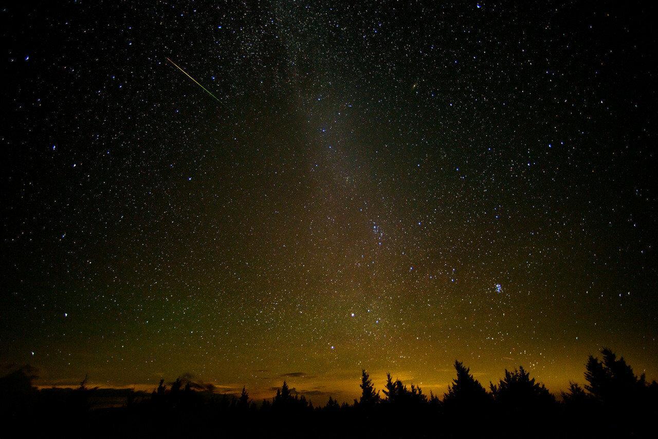 Метеоритный поток Персеиды смогут увидеть брянцы вночь на13августа
