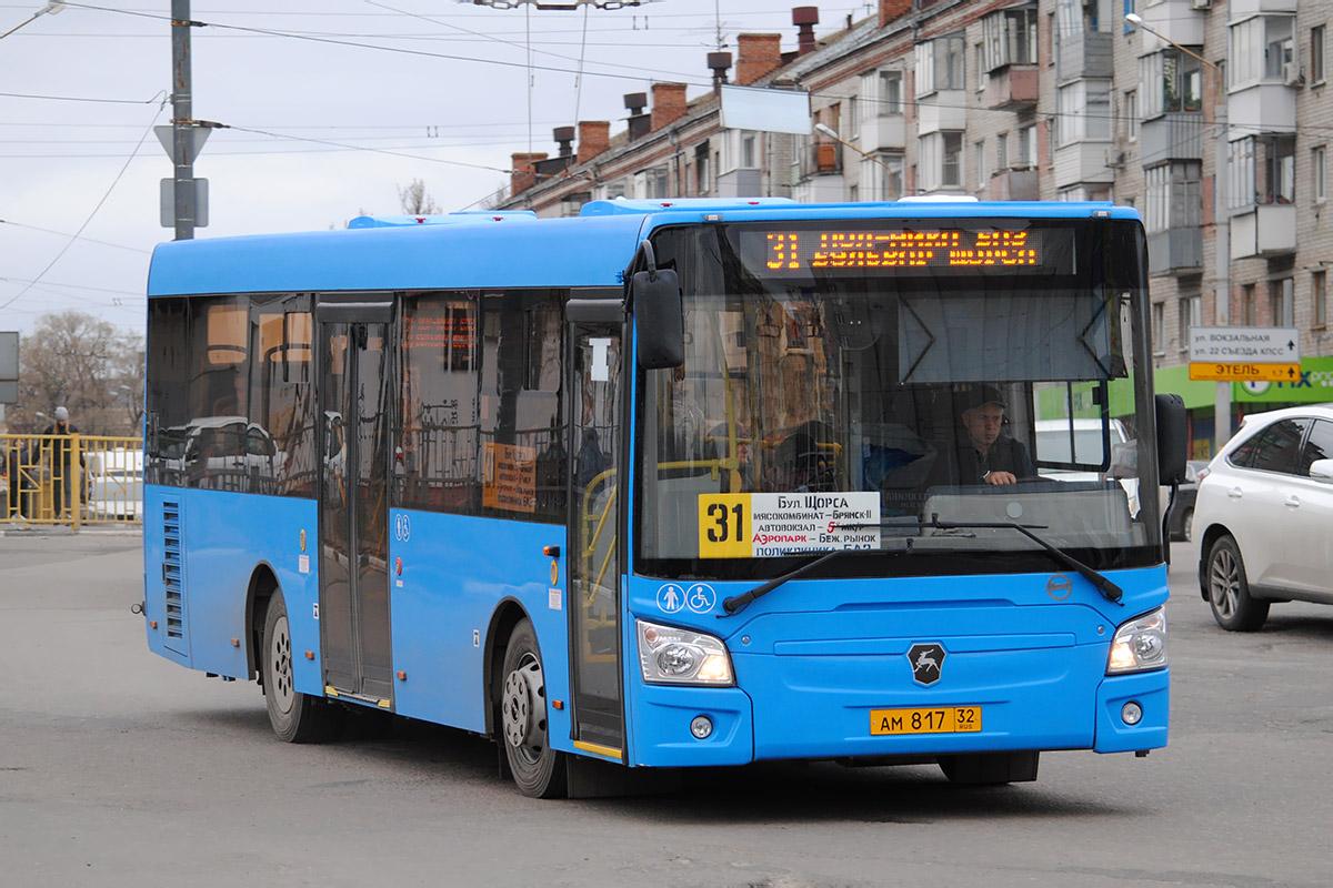 В Брянске увеличили количество автобусов на маршруте №31