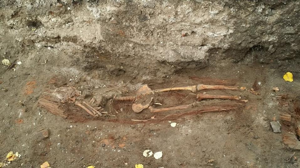 Брянские поисковики нашли останки солдата ВОВ