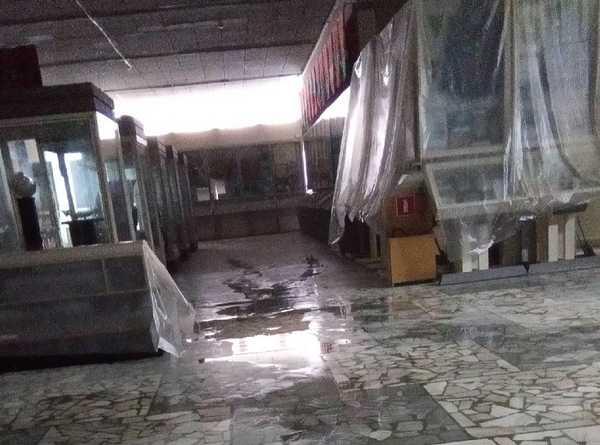 Субботний дождь аукнулся Брянскому краеведческому музею