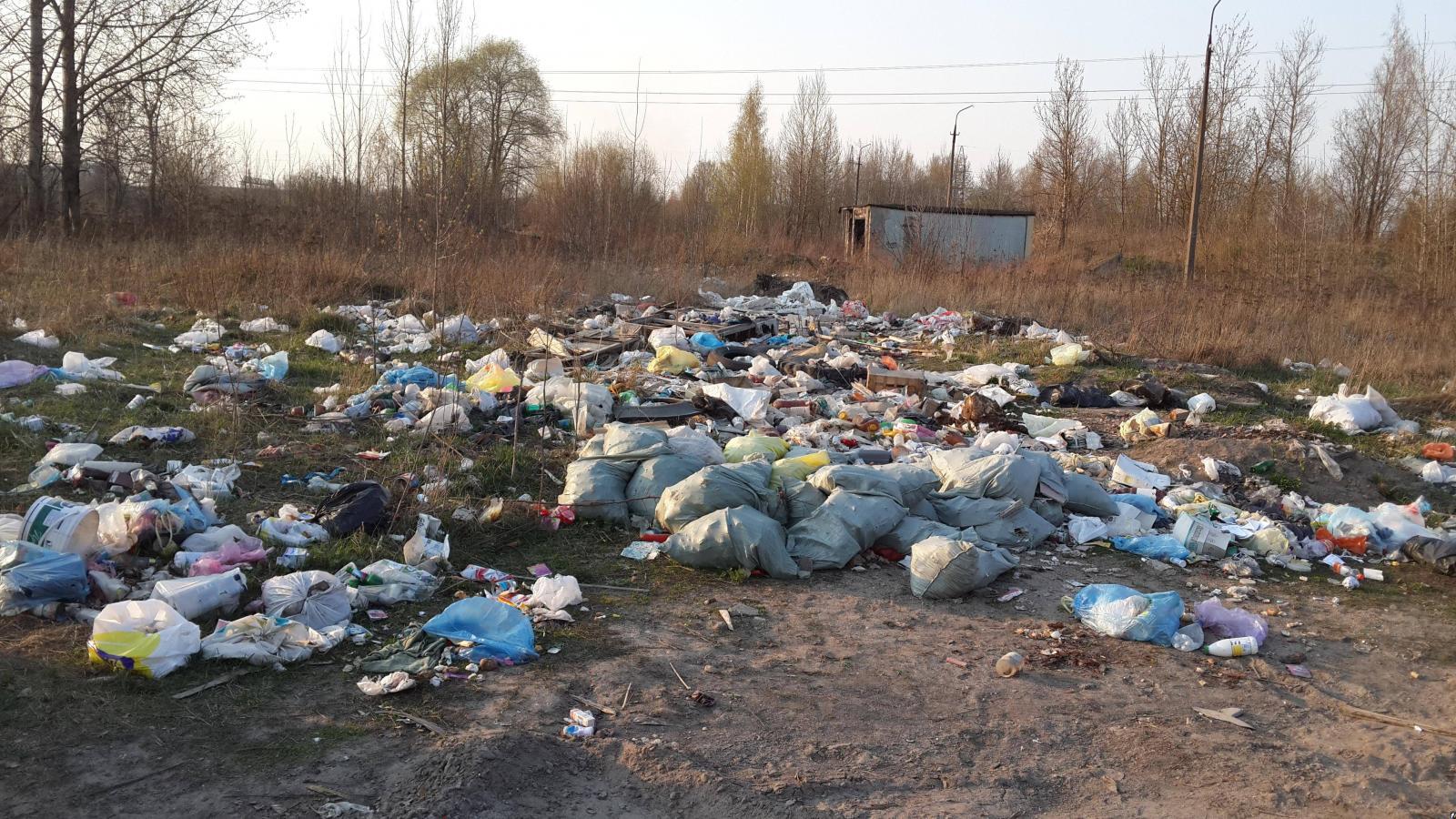 Трубчевская свалка нанесла ущерб на 240 тысяч рублей