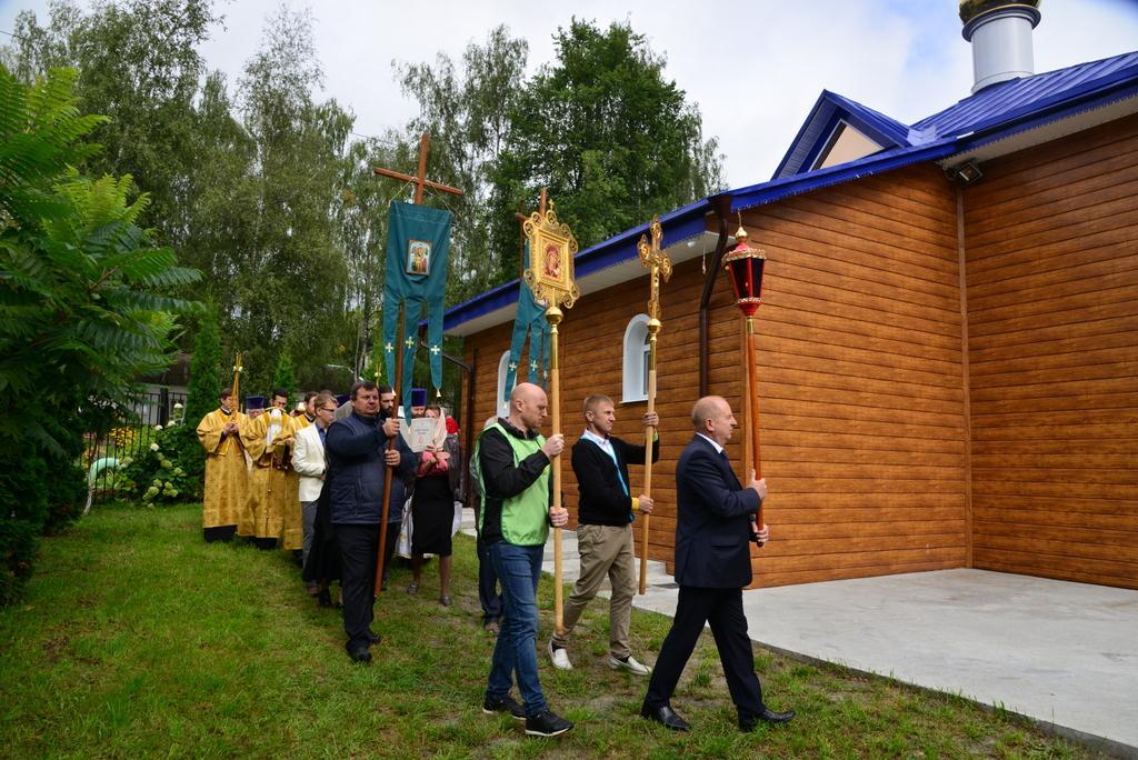 В Мичуринском Брянского района освятили храм