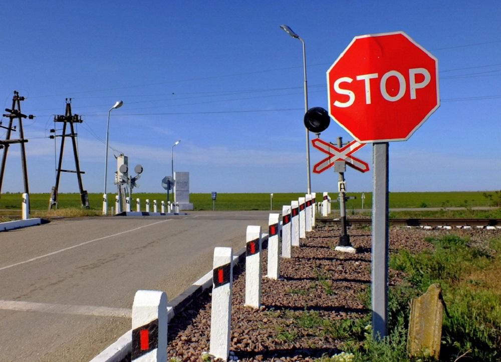 1 октября в области закроют железнодорожный переезд