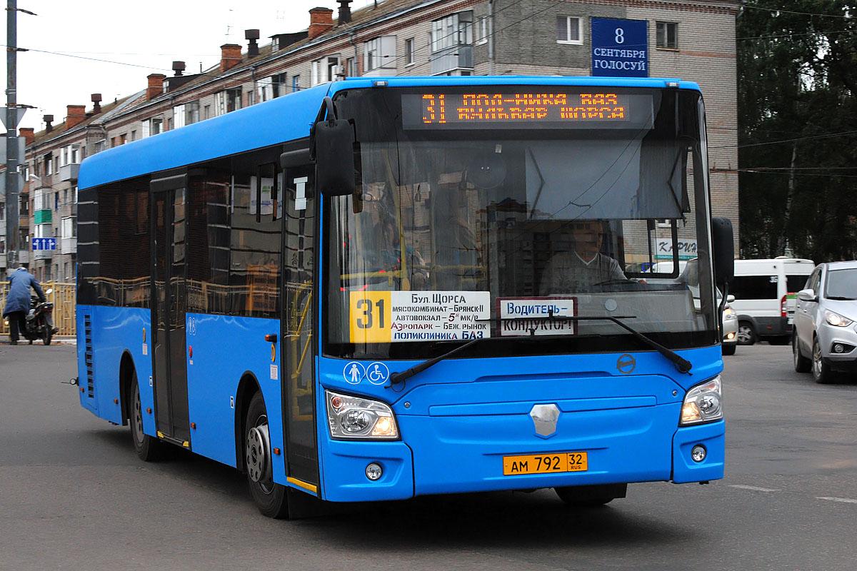 """Брянский автобус №31 будет заезжать на станцию """"Снежетьская"""""""