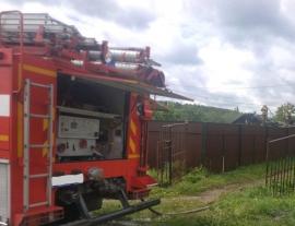В Клинцовском районе сгорел частный дом