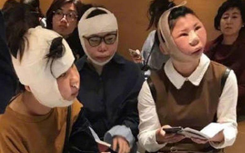 Фейс-контроль против пластики: китаянок не пустили домой из-за распухших лиц