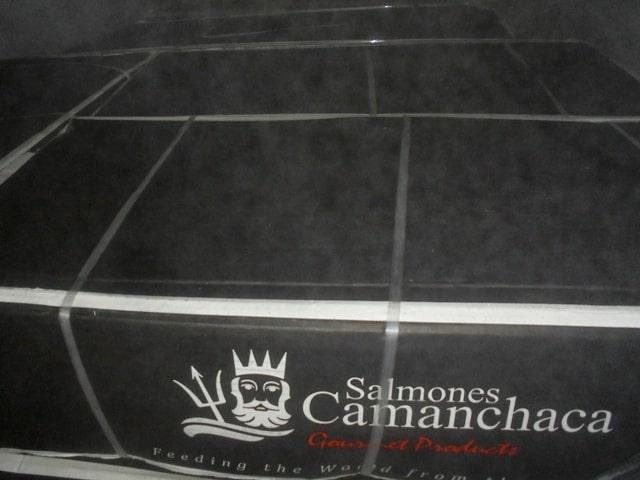 Чилийский лосось на брянской границе развернули обратно в Беларусь