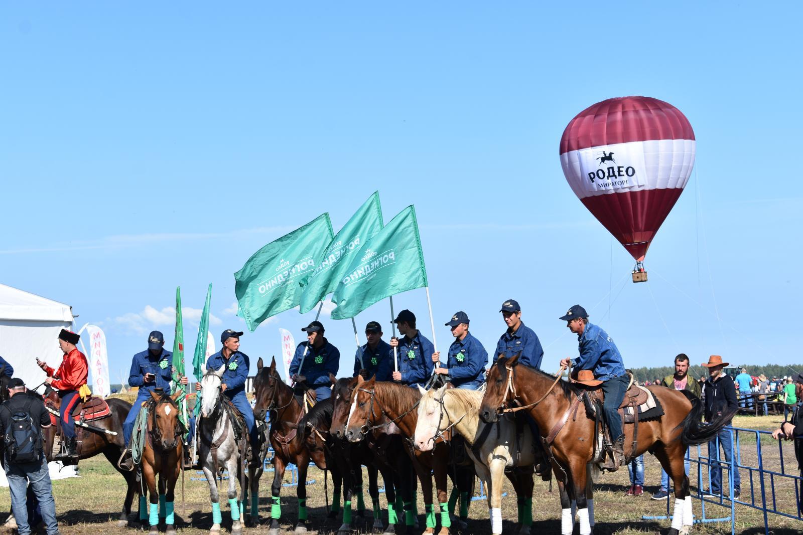 «Русское Родео 2019» покорилось ковбоям из Рогнедино