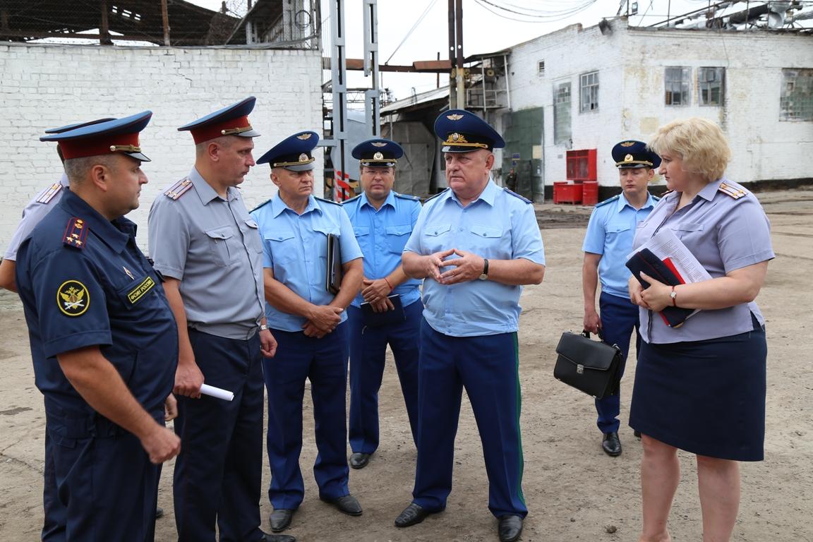 Прокурор области побывал с проверкой в ИК №1 Брянска