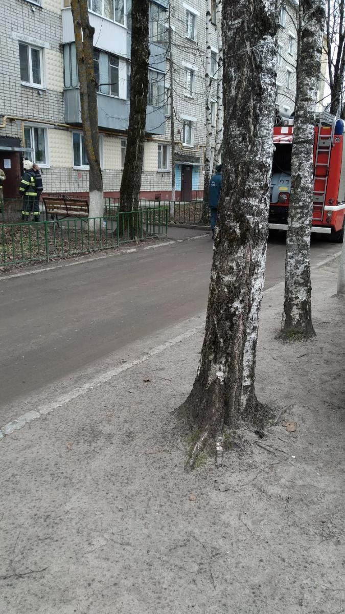 На Почтовой в Брянске загорелась квартира в многоэтажке