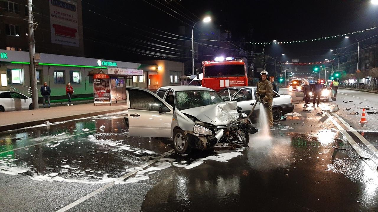 На проспекте Ленина в Брянске случилось жуткое ДТП