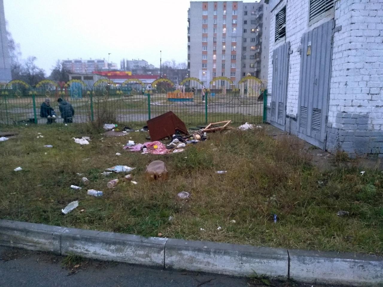 Очередную стихийную свалку заметили в Брянске