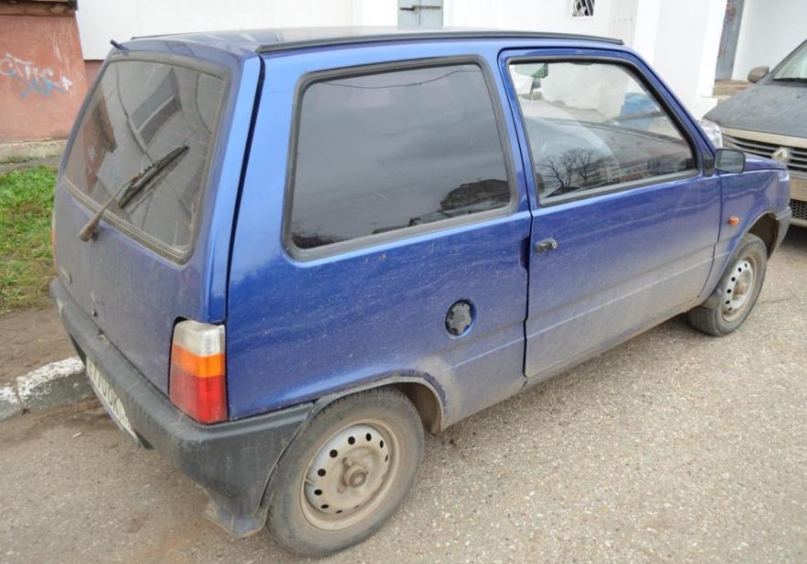 В Брянске угнали машину