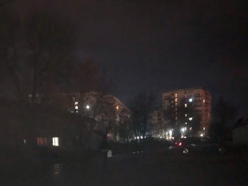 Улица Белорусская погрузилась во мрак