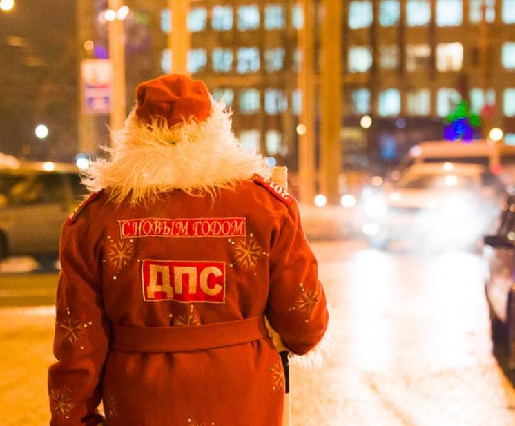 Новогодние каникулы брянцы проведут с автоинспекторами