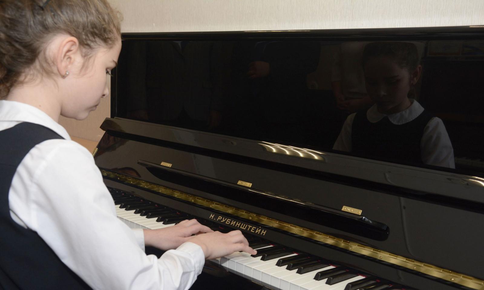 Новые музыкальные инструменты показали на концерте в Добруни