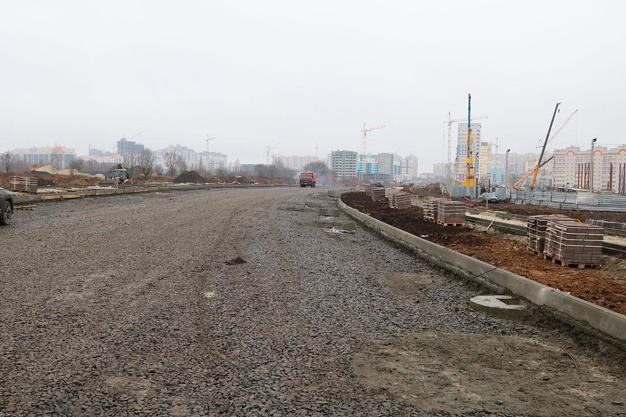 К Новому году на продолжении улицы Советской положат асфальт