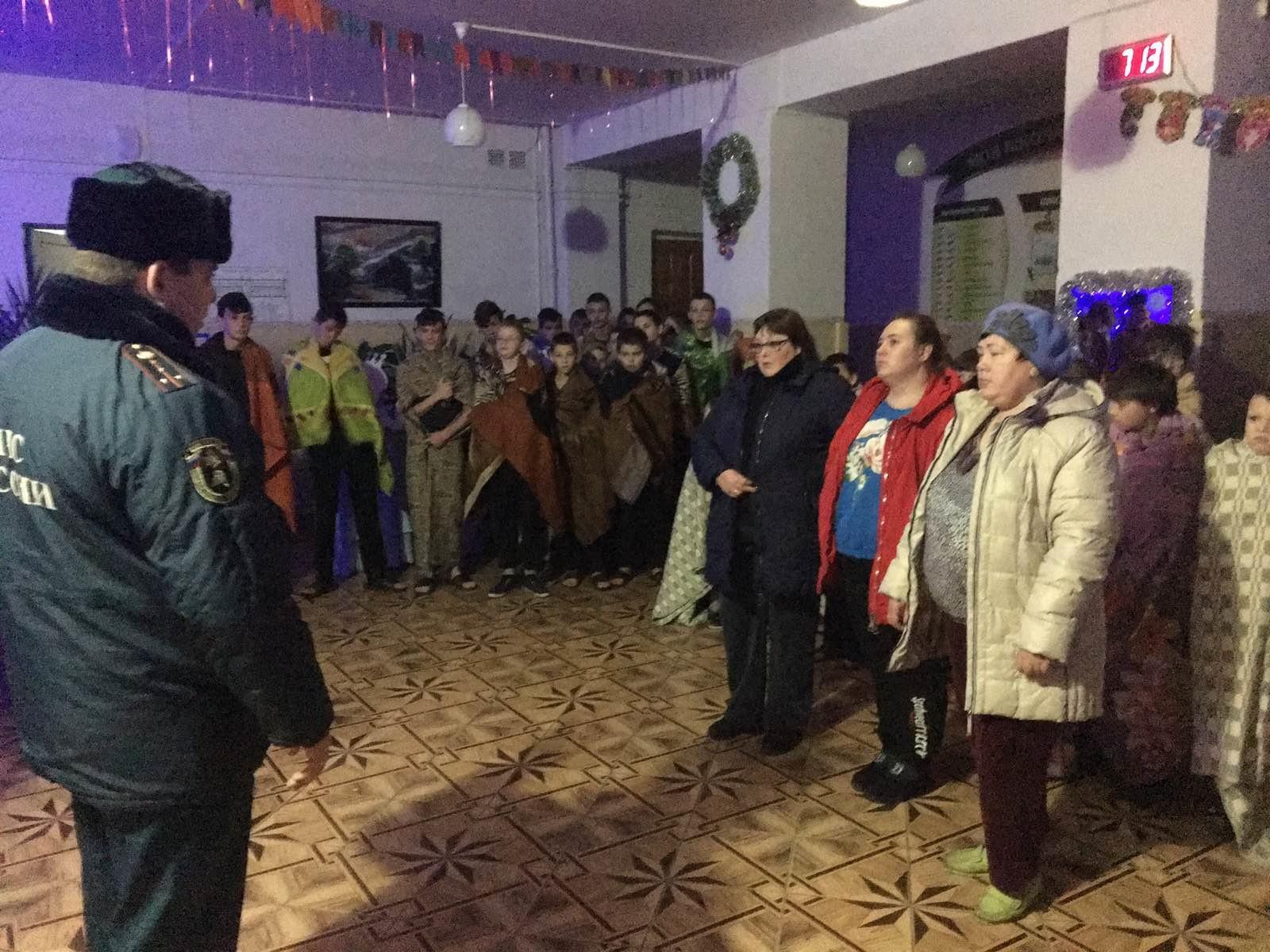 В Брянской области эвакуировали школу-интернат