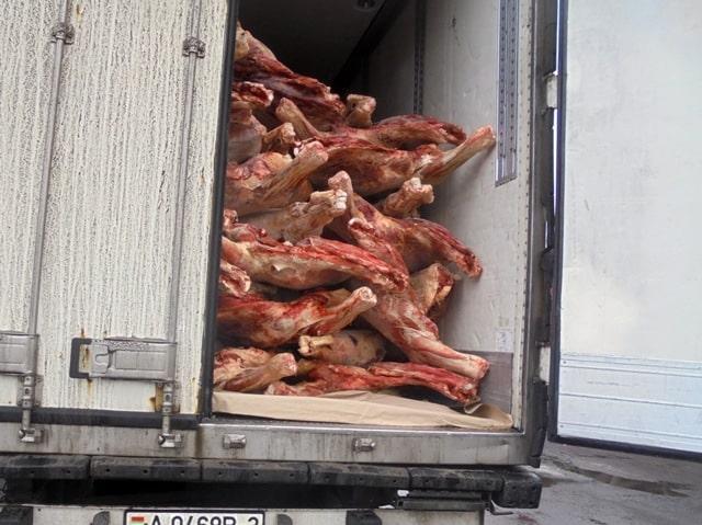 Замороженную говядину обманом хотели провезти через Брянскую область