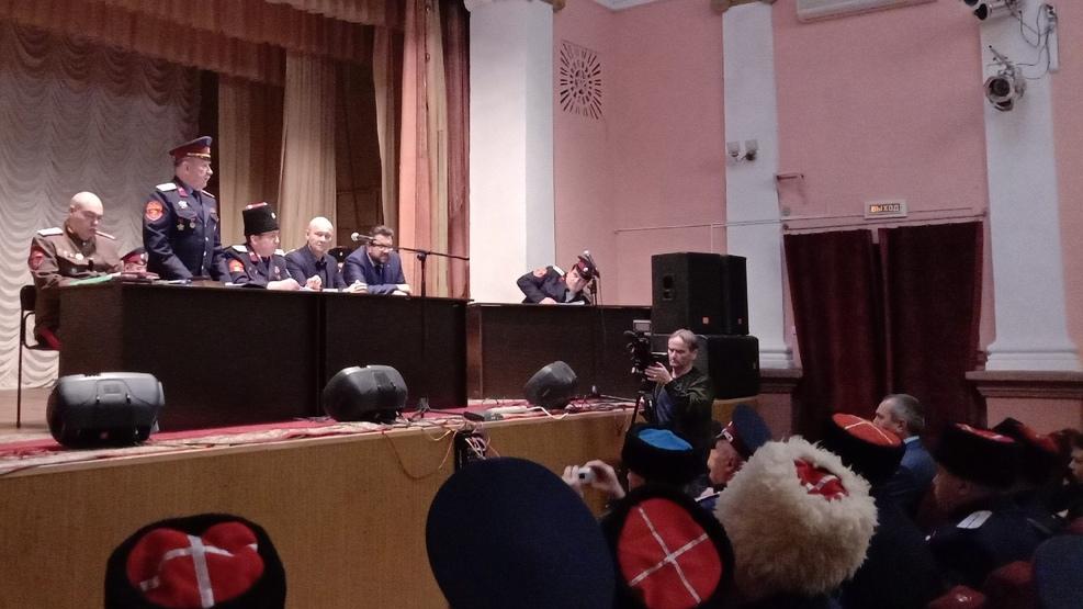 Казаки вновь избрали атаманом Василия Игрунева