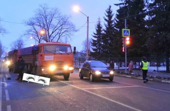 В Карачеве грузовик насмерть сбил пешехода