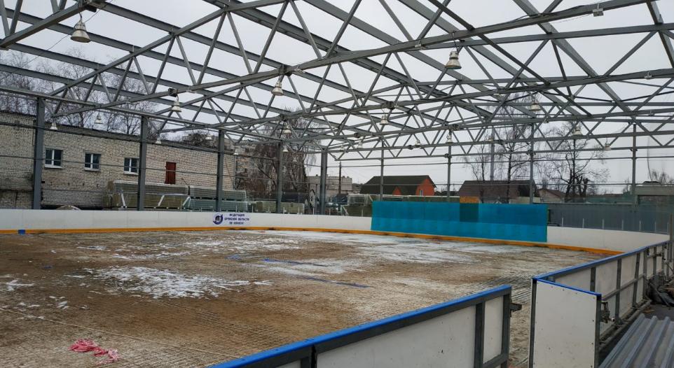 Районным центрам области обещают пять новых ледовых дворцов