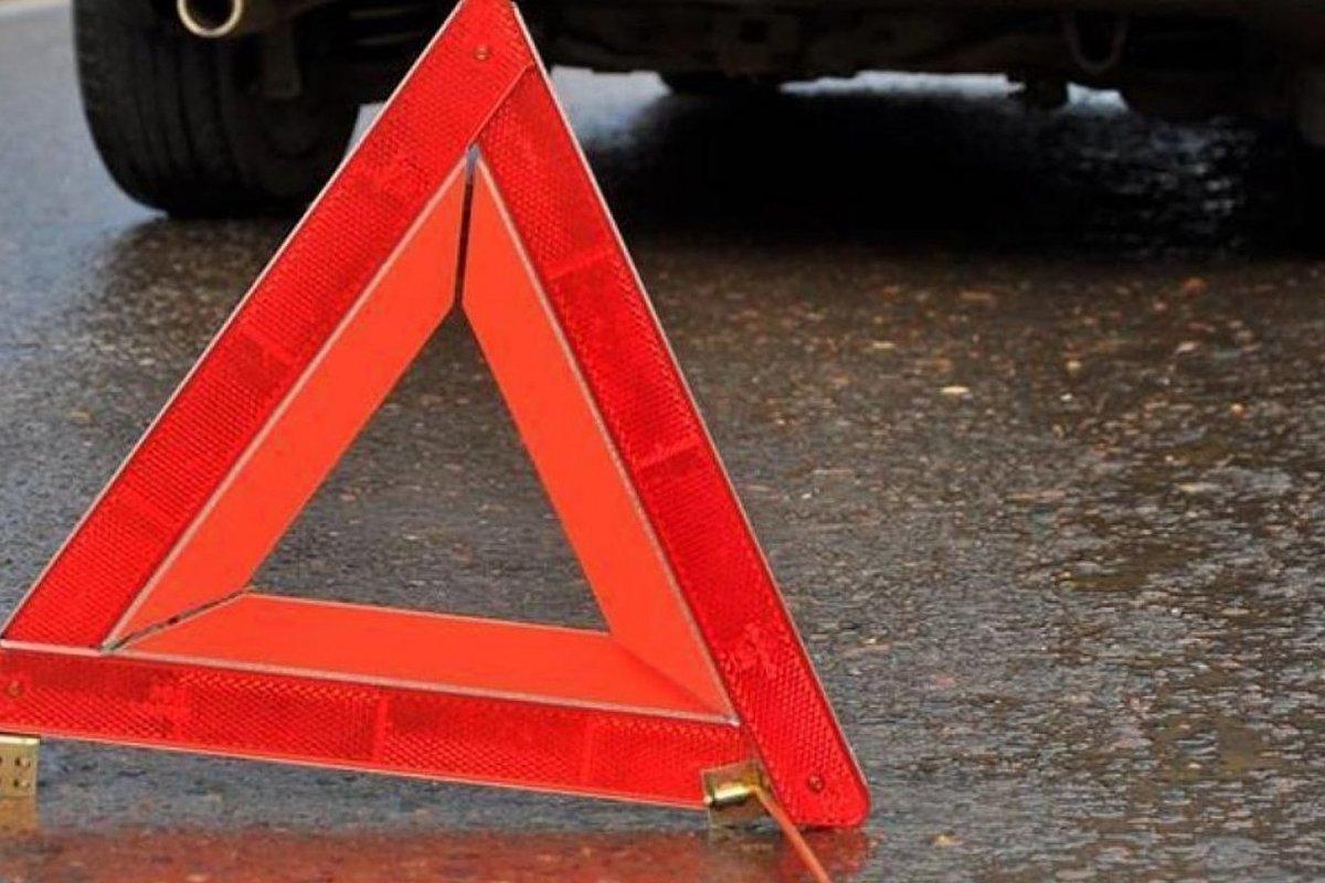 В Брянске столкнулись два микроавтобуса