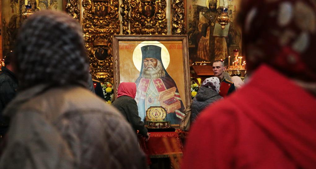 На Брянщину привезли святыни Элистинской епархии