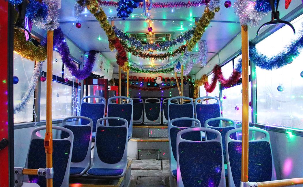 В Новый год брянцев отвезут автобусы