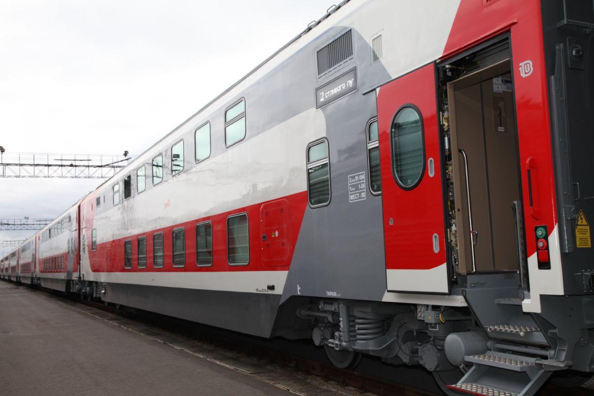 Брянцы уже могут купить билеты на двухэтажные поезда сообщением со столицей