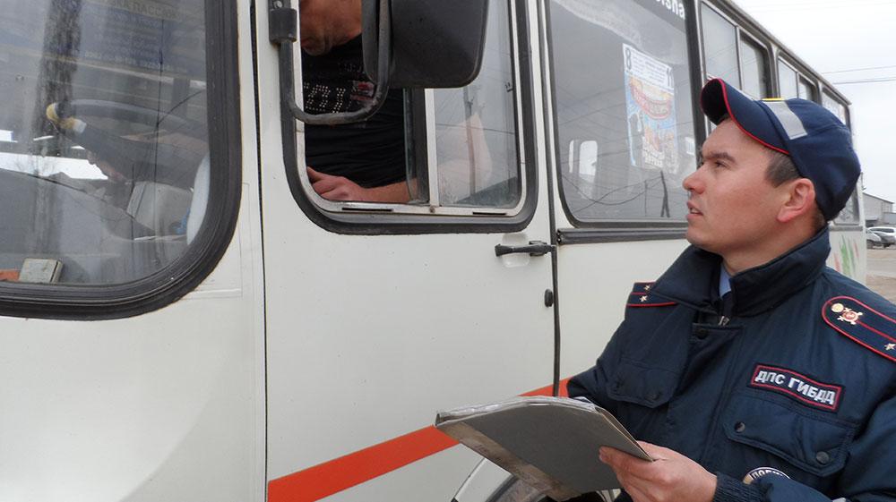 Завтра в области проверят водителей пассажирского транспорта