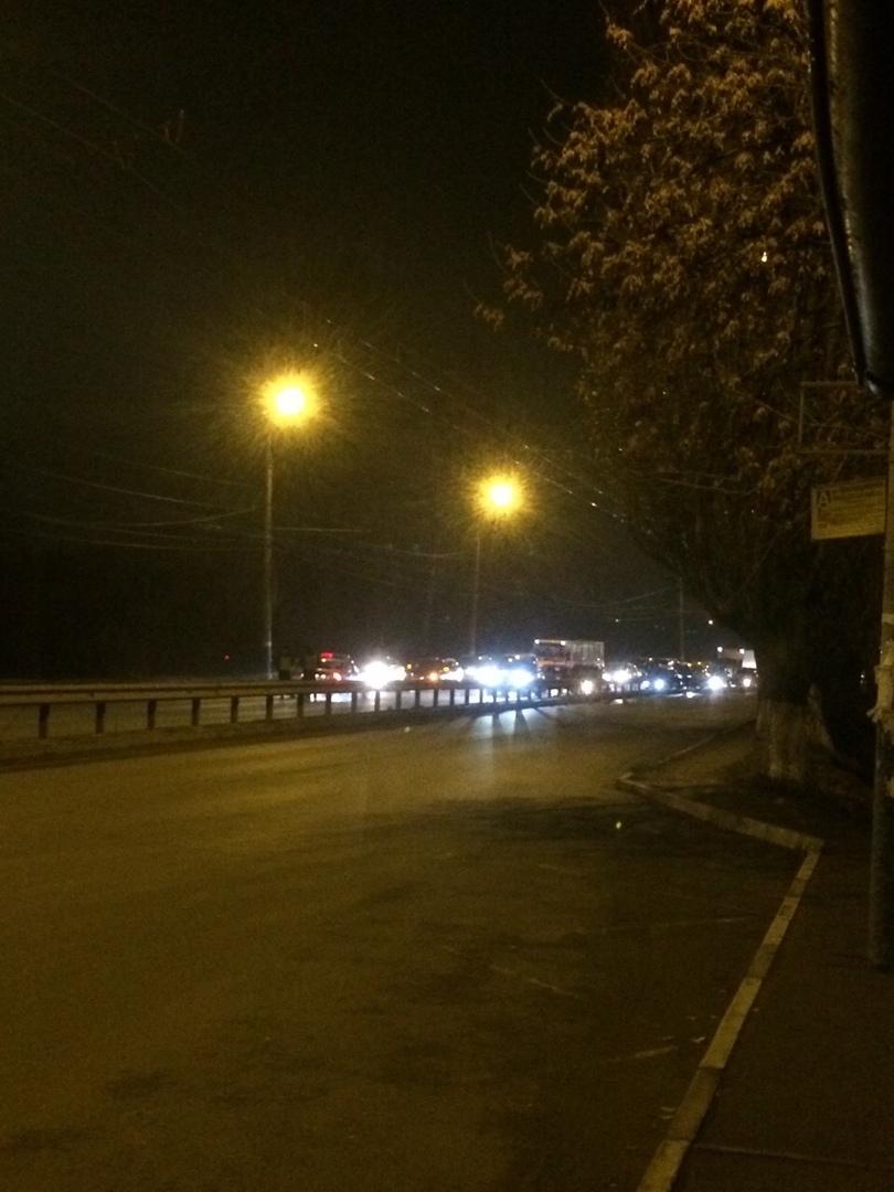 Полиция перекрыла выезд из Фокинского района Брянска