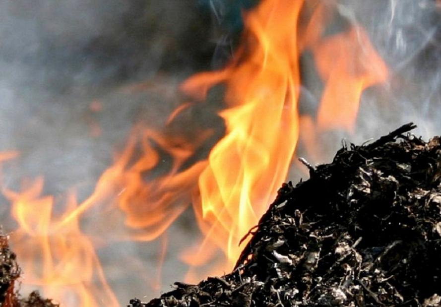 Сообщили подробности возгорания в центре города