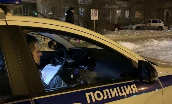 Погоня за пьяным сотрудником автосервиса в Брянске попала на видео