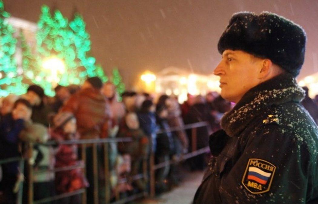 В новогодние праздники работать будут 800 брянских полицейских