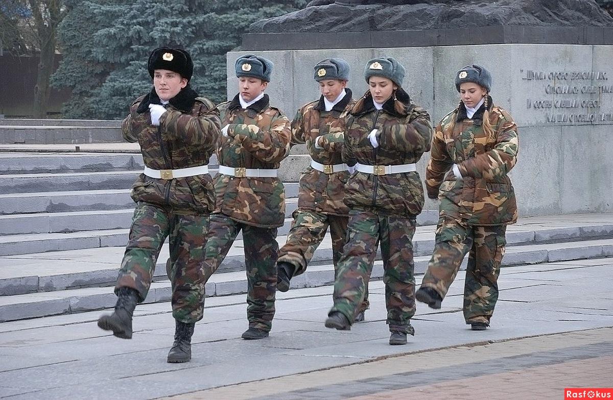 На площади Партизан начинает работу пост №1