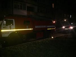 В Брянске сгорела квартира, есть пострадавший