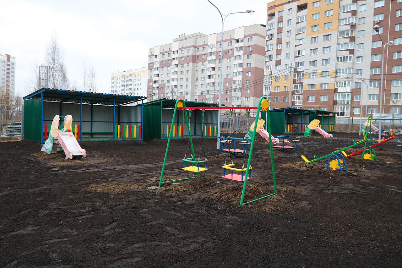 Детский сад на 200 мест достраивают на Романа Брянского