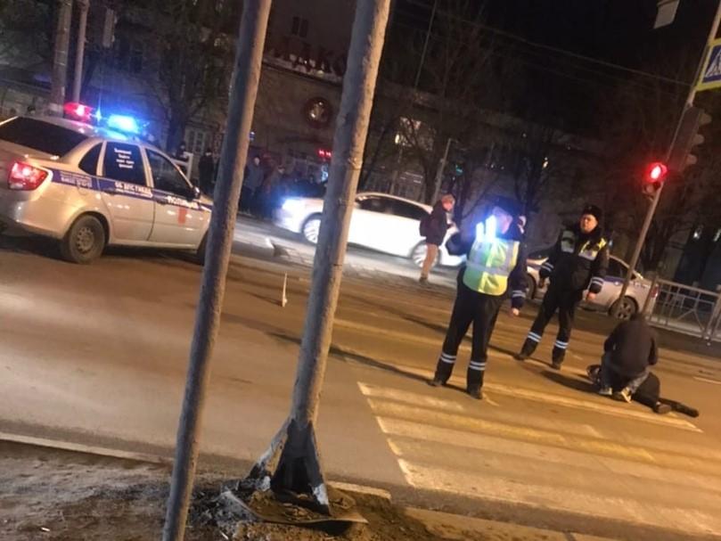 На проспекте Московском сбили пешехода