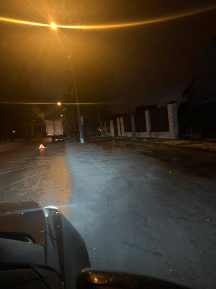 Брянский велосипедист попал в ДТП с грузовиком и легковушками