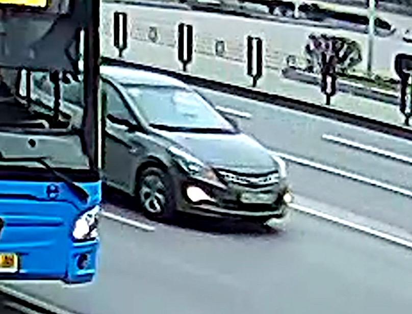 В Брянске ищут Hyundai с вмятиной