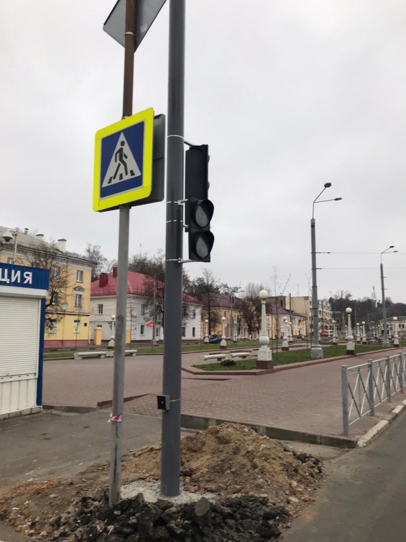 В Брянске на Калинина установили новый светофор