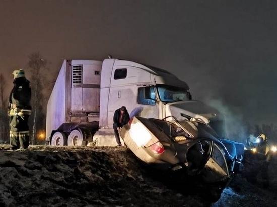 Дальнобойщик, ехавший в Брянск, устроил смертельное ДТП под Калугой